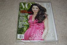 AMAL CLOONEY * SPRING SHAPES UP May 2018 VOGUE MAGAZINE NEW * PARTIALLY SEALED