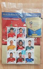 Panini FIFA World Cup Russia 2018 Dutch multi-pack 6 Packets + 9 stickers