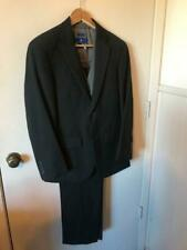 Young Men's 3 Piece Gray Suit - 36 Short Jacket- 30/29 Pants PRONTO UOMO