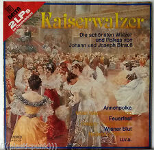 Kaiserwalzer Johann & Joseph Strauss Waltz Polkas SEALED 2-LP Delta Germany RARE