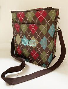 THIRTY ONE 31 Insulated Cooler Picnic Bag Adjustable Shoulder Strap Zipper