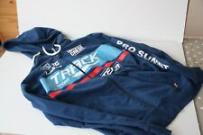 Blue Small Cycling Hoodie/Sweatshirt with Brands Pro Summit, Track Sport, Team