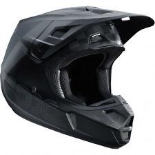 Casco Fox V2 Rhor Motocross MX-Negro/Gris Enduro MTB BMX