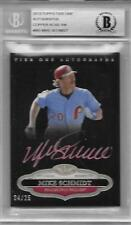 2013 Topps Tier One Autographs Copper Rose Ink #MS TTA-MS Mike Schmidt #24/25