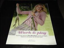 Trabajar y jugar-Tejer patrón para Señoras Chaqueta por Pat Menchini