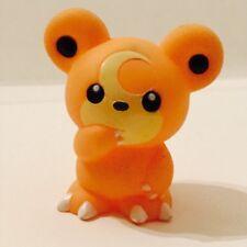 Teddiursa 2001 Nintendo Pokemon Bandai Toy Figure vtg Finger Puppet Teddy