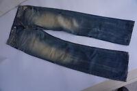 REPLAY Browann Herren Jeans Hose 29/32 W29 L32 used look blau Vintage TOP #8k