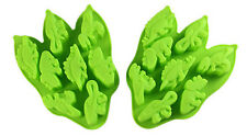 Cake Mold Dinosaur Flexible Silicone Mould For Candy Chocolate ice lattice