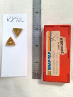 5 NEW SNAP-TAP 16 NR 16 UN THREADING CARBIDE INSERTS. GRADE: CP30 {K872}