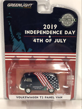 Volkswagen T2 Panel Van Independence Day 1:64 Greenlight 30044