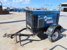 New listing 2014 Miller Big Blue Pro 300 Towable Welder Generator Kubota Diesel bidadoo