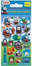 6 Sheets of Thomas & Friends Stickers 32 per Sheet for Party Bags CR
