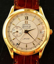 ZENITH ELITE YELLOW oro 18k 750 Automatic 628 GMT cronometri Limited Edition