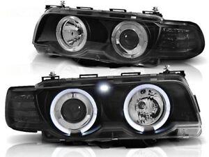BMW 730i 740i 750i E38 1998 1999 2000 2001 LPBM74 HEADLIGHTS HALO XENON