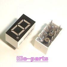 10 Pcs 1 Digits 036 Dip Green 7 Segment Led Display Common Cathode Digit
