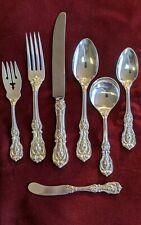 Reed & Barton Sterling Silver Seven-Piece Setting Francis I Pattern: No Monogram