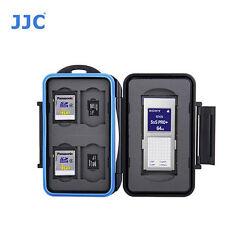 JJC MC-STX9 Memory Card Case fits 1 SXS 4 SD 4 MSD Storage camera water splashin