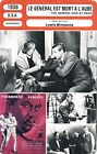 Fiche Cinéma Movie Card. Le général est mort à l'aube (USA) 1936 Lewis Milestone