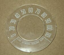 CLASSIC FIAT 500 N D SPEEDO SPEEDOMETER GLASS ( Km/h) ROUND SPEEDO BRAND NEW