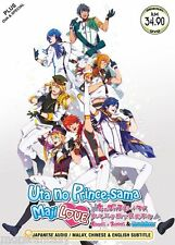 DVD Uta no Prince-Sama Maji Love Season 1 2 3 ( TV 1-39) + OVA + Special
