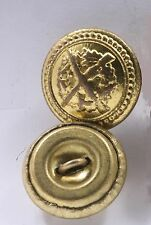 Hungary Hungarian Army Button Replacement Cuff 1.6cm Gold Sleeve Recessed Shank