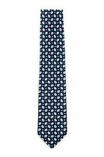 Borrelli Napoli hand made silk neck tie New w tags B32