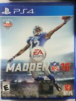 PS4 Madden NFL 16 Sony PlayStation 4 Football Game