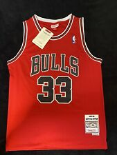 Scottie Pippen Mitchell And Ness Jersey Stitched