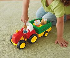 Fisher price little people tow N Tirez Tracteur