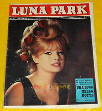 LUNA PARK 1964 n. 5 Annette Stroyberg, Emmanuelle Riva