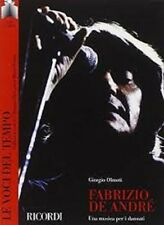 Fabrizio De Andrè - Le voci del tempo - LIBRO +  CD - SIGILLATO