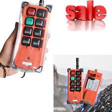Portable Transmitter & Receiver Hoist Crane Radio Wireless Remote Control F21E1B