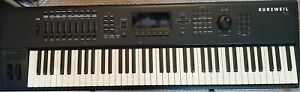 Kurzweil PC3 76 Note Synth, Blue with Swan Flight Case, Black and Silver