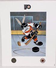 Looney Tunes Flyers Warner Bros Bugs Bunny He Shoots, He Scores Litho