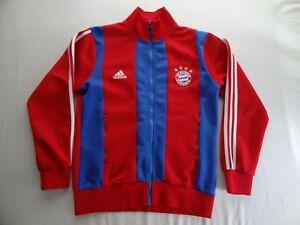 Adidas FC Bayern Munchen M Full Zip Club Soccer Warm-Up Track Jacket World Cup