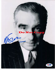 Martin Scorsese Director 8x10 autographed RP