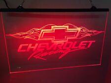 Chevy Racing Led Neon Light Sign Custom Game Room , garage Shop Large 12 X16�