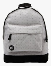 Zaino Mi-Pac Backpack Canvas Dot Grey Black Rucksack Mochila рюкзак MiPac