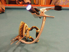 """Third Hand - 11"""" Long Gooseneck with 2"""" Wide Spring Clamps on Both Ends"""