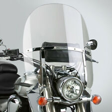 Honda VTX1300 S & R/Retro - 2up switchblade windshield & chrome installation kit