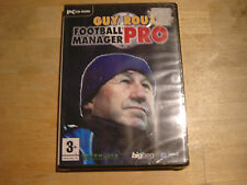 pc cd-rom guy roux football manager pro