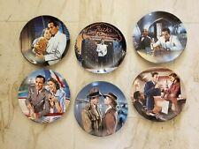 1990 Casablanca Full Set Collector Plates, Bradford Exchange, 1st issue