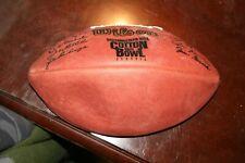 Wilson Leather Football - 2000 Cotton Bowl Hall of Fame Roger Staubach Texas A&M