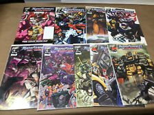 TRANSFORMERS ARMADA 1 1 3 4-10 Lot of 9 Comics Free Comic Book Day