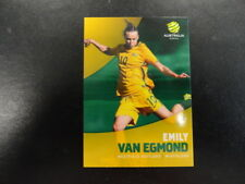 2017/18 TAP'N'PLAY A-LEAGUE CARD NO.039 EMILY VAN EGMOND WESTFIELD MATILDAS