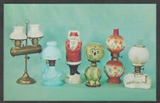 1960s Advertising Postcard For Victorian Miniature Oil Lamps Price Guide 521