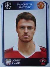 Panini 147 Johnny Evans Manchester United UEFA CL 2010/11