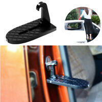 Car 2in1 Folding Stepping Ladder Foot Pegs Door Hook Roof Rack Assistance Pedal