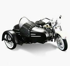 Maisto 1 18 Harley Davidson 1958 FLH Duo Glide W Side Car Motorcycle Model Toy