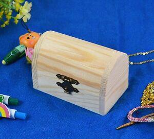 Decoupage main Trinket en bois Bijoux Keepsake cadeau Nom Box Storage Card